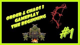 Order & Chaos 2 Redemption Gameplay The Beginning :) Mobile MMORPG ios #1