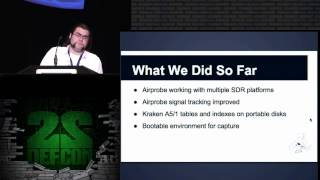 DEF CON 22 - Pierce and Loki - NSA Playset : GSM Sniffing