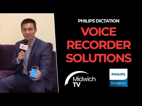 Philips Dictation Voice Recorder Solutions