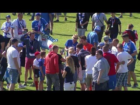 Mecklenburg Schwerin gegen Hansa Rostock - Finale Landespokal 17/18 - Tore