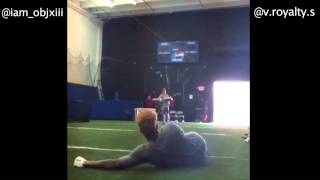 Epic Instagram catch battle: Odell Beckham vs. Jarvis Landry