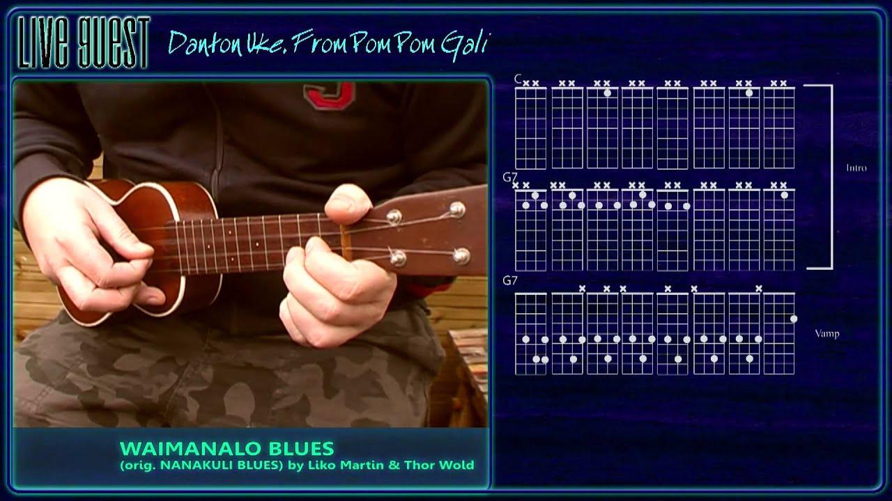 Waimanalo Blues Livequest 13 Youtube
