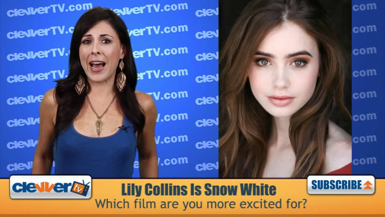 Lily Collins lands Snow White lead