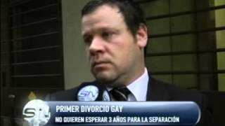 Video PRIMER DIVORCIO GAY  LAS MUJERES SE HABÍAN CASADO EN 2011 download MP3, 3GP, MP4, WEBM, AVI, FLV November 2017