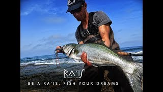BLUE FISH ON THE WAVES #1 - Spotter soft lure by RA'IS