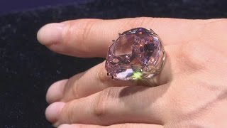 A HUGE 59.6 carat diamond sells for a record breaking $71.2m