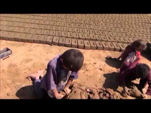 Child workers in brick factory SOW