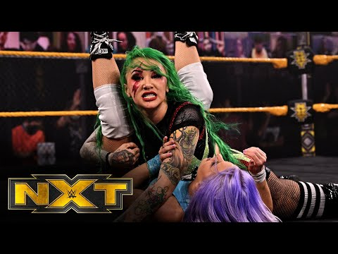 Shotzi Blackheart & Ember Moon vs. Candice LeRae & Indi Hartwell: WWE NXT, Feb. 17, 2021