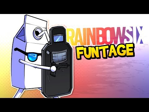 Rainbow Six Siege FUNTAGE! - The BEST Clutch EVER & MORE!