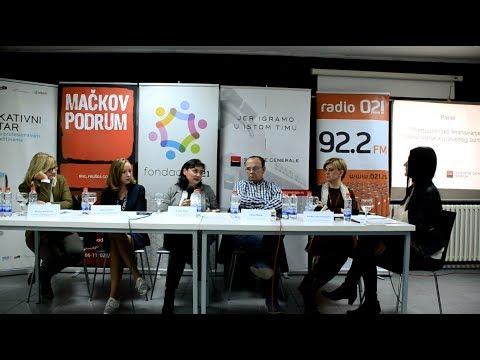 """Panel """"Preduzetničko finansiranje - osnaživanje sopstvenog biznisa"""""""