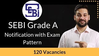 SEBI Grade A - Notification and  Exam Pattern