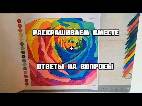 РАСКРАШИВАЕМ ВМЕСТЕ раскраску Колортроник + ОТВЕТЫ НА ВОПРОСЫ