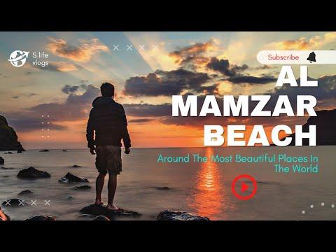 Al Mamzar Beach Park In Dubai   Most Beautiful Al Mamzar Beach Dubai UAE