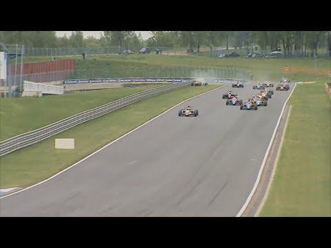 SMP Formula 4 Championship 2017. Race 2 Smolensk Ring. Start Crash
