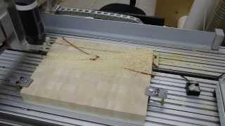 Making A Simple Inlaid End Grain Cutting Board