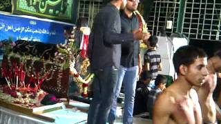 Haye abbas ko ladhne ki ijazat naa mili recited by Mohsin and Raza @ Mira Road Mumbai