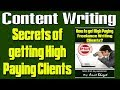Free eBooks - Content Writing Success | How to get High Paying freelance writing jobs and clients