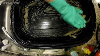 Dishwashing Review: Magic SakSak Silicone Cleaning Brush Scrubber Gloves