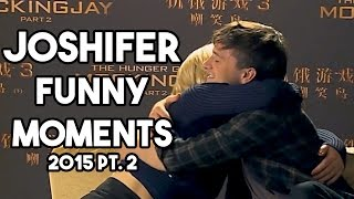 Jennifer Lawrence Josh Hutcherson Funny Moments 2015 Part 2