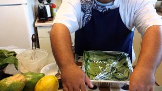 How to make Lupulu in a Pan?!W/ CHEF PREZ