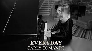 """Beautiful Piano Ballad: """"Everyday (Grand Piano)"""" Live by Carly Comando"""