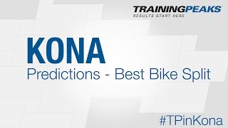 Predictions - Kona 2015 IRONMAN World Championship