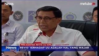 Pro Kontra Tak Berujung, Wiranto Nilai Revisi UU KPK Memperkuat Lembaga - iNews Sore 18/09