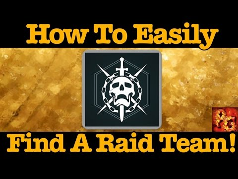 Destiny: How To Find A Raid Team And Make New Friends! (Guide To Meeting New People In Destiny)