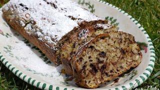 Юлия Высоцкая — Банановый хлеб с шоколадом и орехами