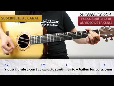 Labios compartidos de man acordes para guitarra como for Un jardin con enanitos letra