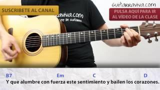 Melendi Acordes Tu Jardín Con Enanitos CLASE guitarra