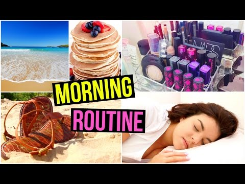 Morning Routine for Summer Lazy Day Routine ♡ Gillian Bower