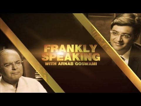 Frankly Speaking with Arun Jaitley - Full Interview