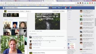 How to use facebook graph search to find people