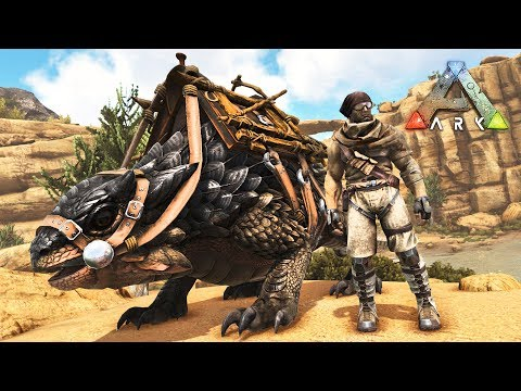 ARK: Survival Evolved - TAMING NEW DINOSAURS!! (Ark Scorched Earth)
