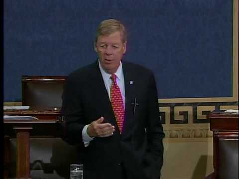 Senator Johnny Isakson on Dr. Bruce Grube