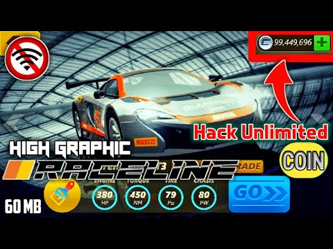 Download Raceline Mod Apk Hack Unlimited Money V1.01 & Unlocked All Cars Terbaru 2019 No Root
