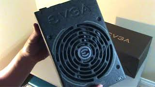 Black EVGA SuperNOVA 1600 T2 80+ TITANIUM - Unboxing