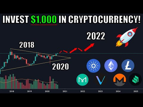 How I Would Invest $1000 in Cryptocurrency For HUGE GAINS (Besides Bitcoin)   Cryptocurrency Tips