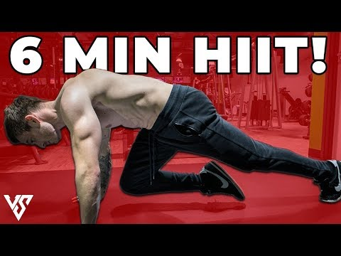 Simple 6 Minute HIIT Workout To BLAST Off Fat Calories