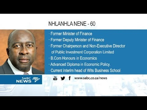 Nene returns as Finance Minister