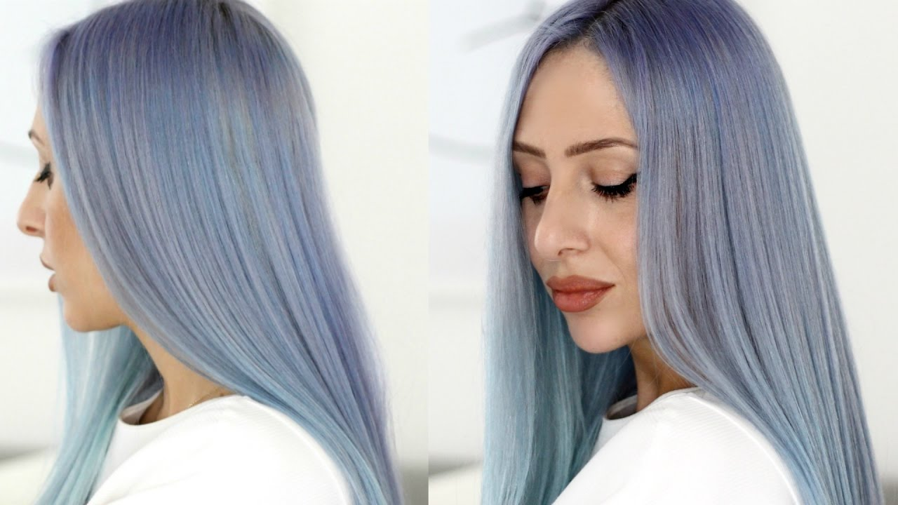 how to dye your hair blue lor201al colorista blue review
