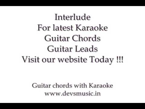 Chahun Main Ya Na Karaoke Lyrics Guitar Chords Ashiqui 2 www.devsmusic.in Devs Music Academy