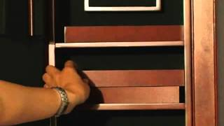 Wall Mounted Wooden Jewelry Cabinet - Product Review Video