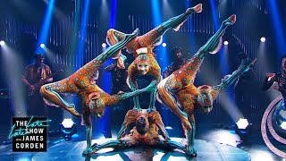 Cirque du Soleil: Kurios(James welcomes the Cirque du Soleil: Kurios cast for a performance that tests the limits of the human body. Subscribe To