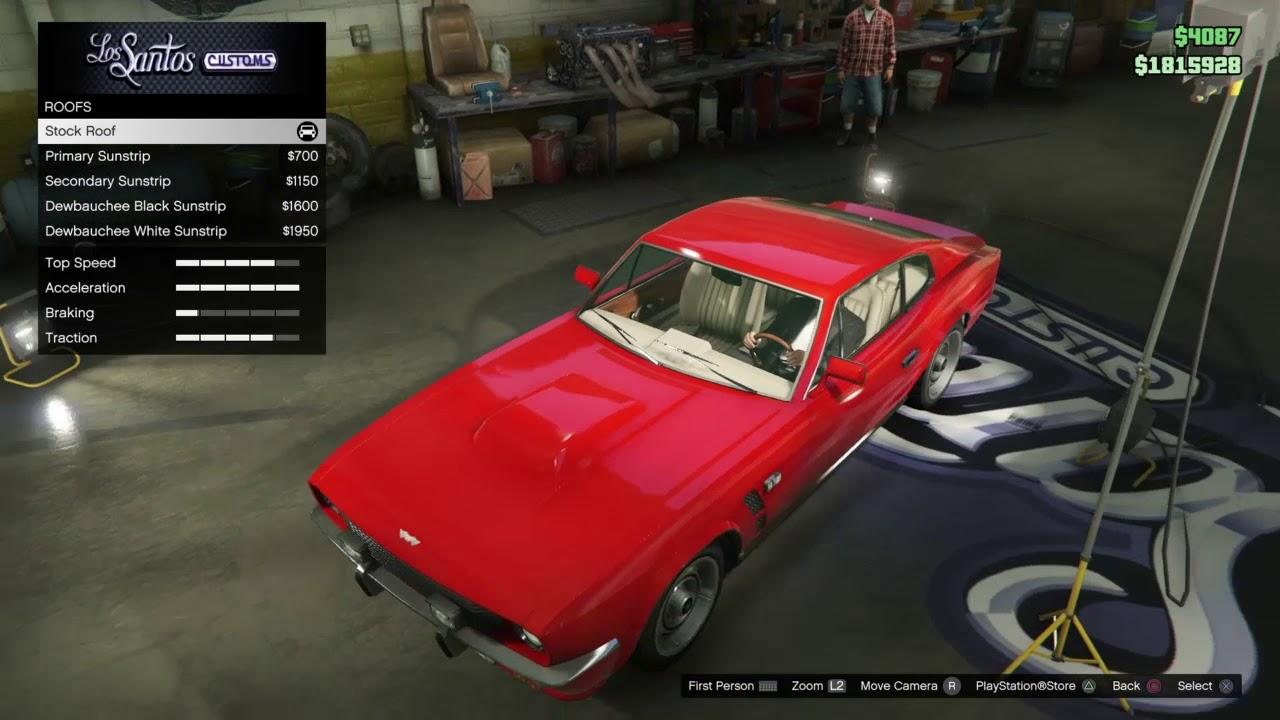 Gta 5 Johnny English Strikes Again Aston Martin V8 Vantage Mki Build Youtube