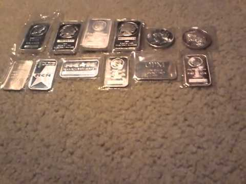 What is the ideal weight for silver bars