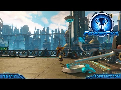 Ratchet & Clank 2016 - I Hate Lamp Trophy Guide (Aleero City Lamp Locations)
