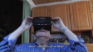 VR-Brille super 360 Grad-Seh-Erfahrung!
