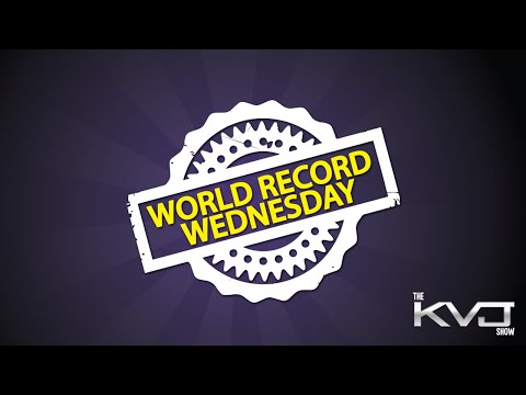 World Record Wednesday - Circling A Basketball Around The Leg